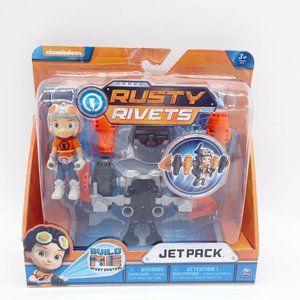 Nickelodeon Rusty Rivets Build Me Rivet System Jet